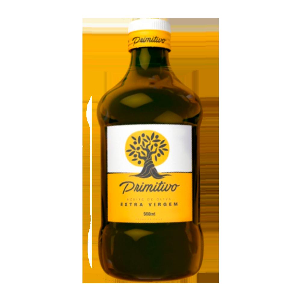 Azeite de Oliva extra virgem 500ml Primitivo vidro UN
