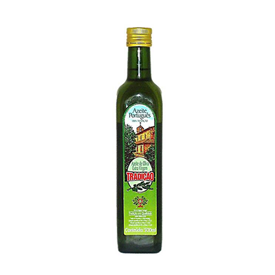 Azeite de Oliva extra virgem 500ml Tradição vidro UN