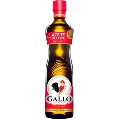 Azeite de Oliva tradicional 500ml Gallo vidro UN