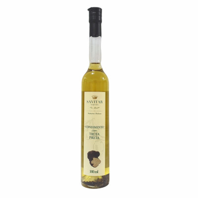 Azeite de Oliva trufa negra 100ml Savitar vidro UN
