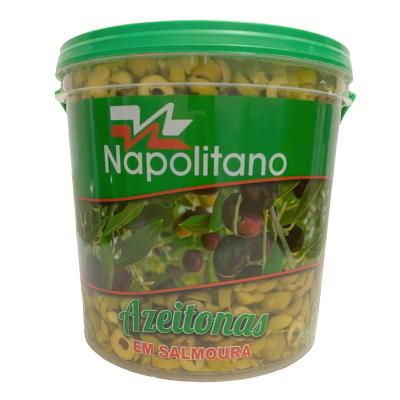Azeitona Verde fatiada 1,8 a 2kg Napolitano balde KG