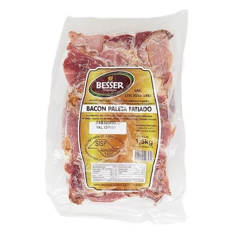 Bacon fatiado por Kg Besser  KG