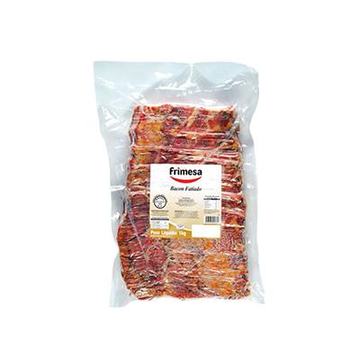 Bacon fatiado por kg Frimesa  KG