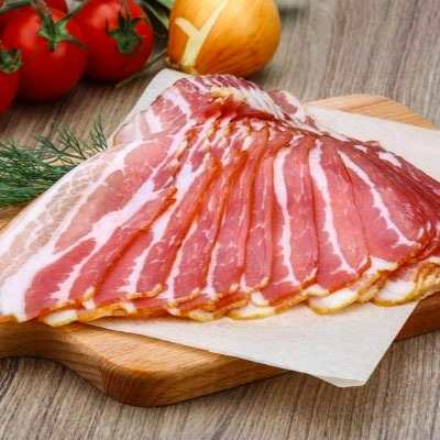 Bacon resfriado fatiado por Kg Chef Meat  KG