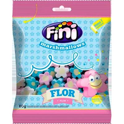 Bala de marshmallow caixa 12 unidades de 60g Fini/Flor CX