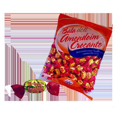 Bala sabor amendoim 600g Doll pacote PCT