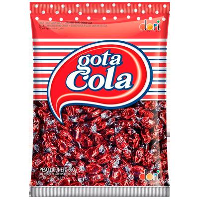Bala sabor cola pacote 600g Dori PCT