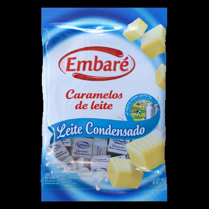Bala sabor leite condensado 660g Embaré/Caramelos de Leite pacote PCT