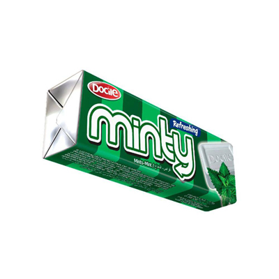 Bala sabor menta extra 16 unidades Minty caixa CX