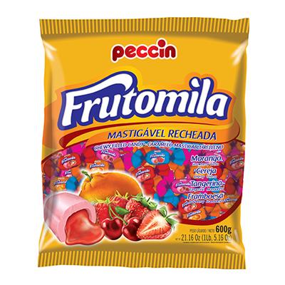 Bala sabores sortidos 600g Frutomila pacote PCT