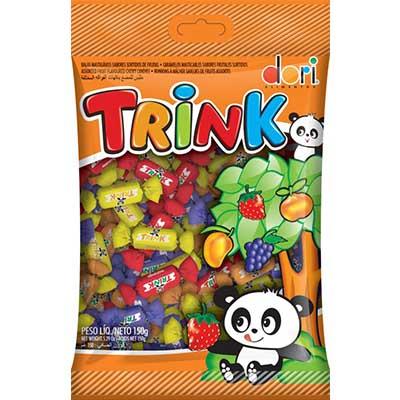 Bala sortidas de frutas trink 150g Dori pacote PCT