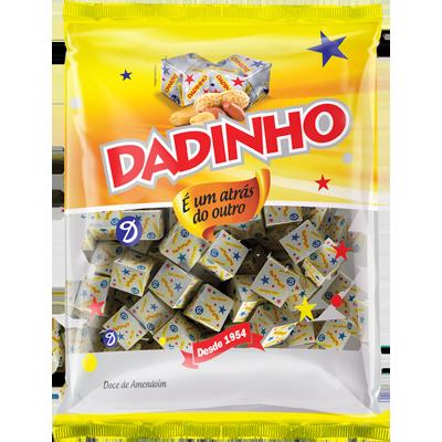 Bala tradicional 900g Dadinho pacote PCT