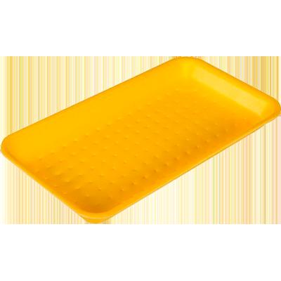 Bandeja de isopor rasa amarela 004 400 unidades Darnel caixa CX