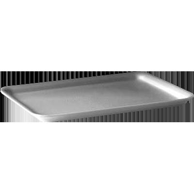 Bandeja de isopor rasa branca 150x150x20 400 unidades Copobras caixa CX