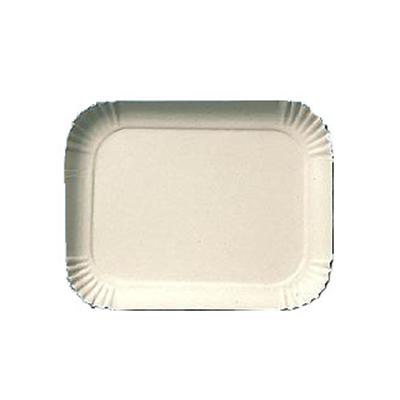 Bandeja de papelão n° 21 (14cm x 21cm) 100 unidades Master Clean pacote PCT
