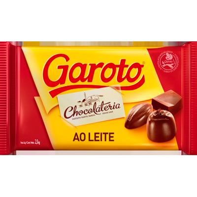 Barra de chocolate ao leite 2,1kg Garoto  UN