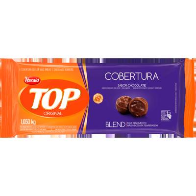 Barra de chocolate blend 1,050kg Harald/Top  UN