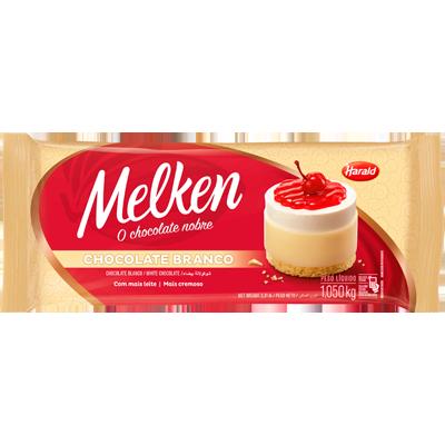 Barra de chocolate branco 1kg Harald/Melken  UN