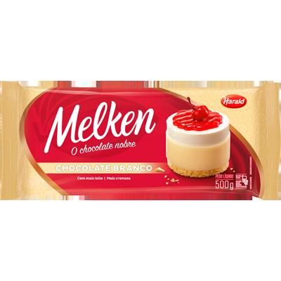 Barra de chocolate branco 500g Harald/Melken UN