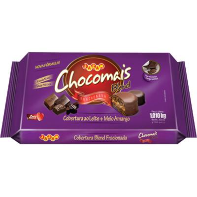 Barra de chocolate Cobertura Blend 1,01kg Chocomais  UN