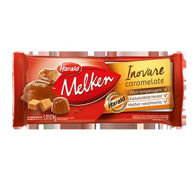 Barra de chocolate com caramelo 1kg Inovare/Harald  UN