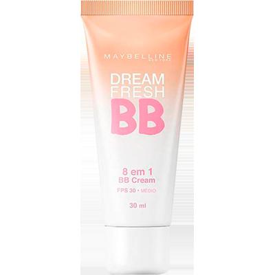 Base BB Cream proteção FPS 30 médio 8x1 30ml Maybelline  UN