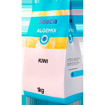 Base para sorvete sabor kiwi pacote 1kg Algemix UN