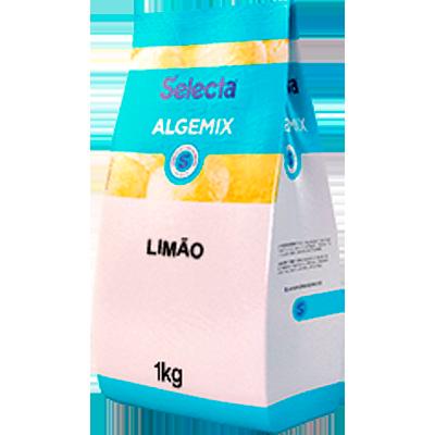 Base para sorvete sabor tropical limão pacote 1kg Algemix UN