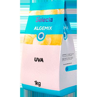 Base para sorvete sabor uva 1kg Algemix pacote UN