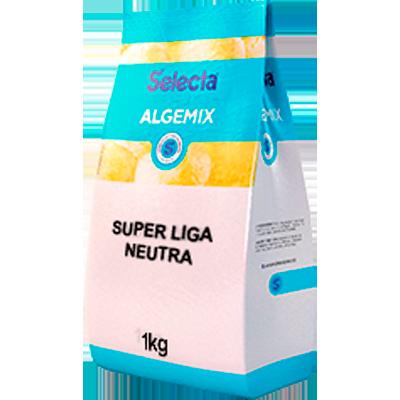Base para sorvete super liga neutra pacote 1kg Algemix UN