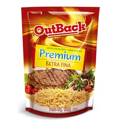 Batata Palha extra fina 120g OutBack pacote PCT