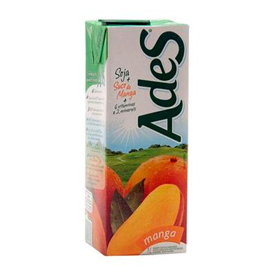 Bebida a base de soja sabor manga 1Litro Ades Tetra Pak UN