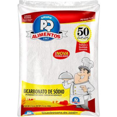 Bicarbonato de sódio  1kg PQ Alimentos pacote PCT