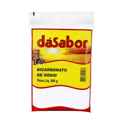 Bicarbonato de sódio  500g DáSabor pacote PCT
