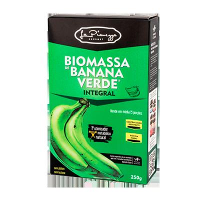 Biomassa de banana verde integral caixa 250g La Pianezza UN
