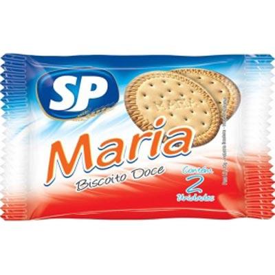 Biscoito doce maria unidades de 5 a 9g SP em sachês UN