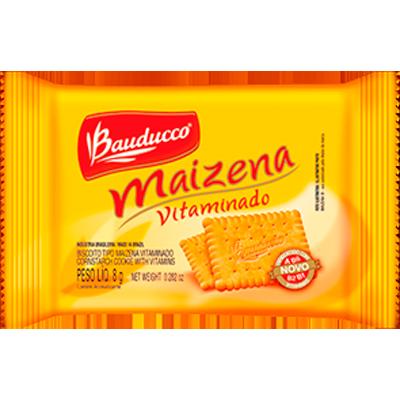 Biscoito doce sabor maizena em sachês unidades de 8/9g Bauducco UN