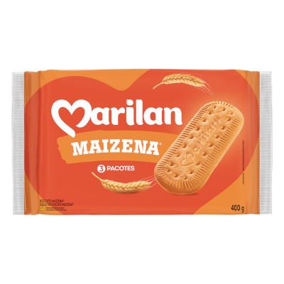 Biscoito doce sabor maizena 400g Marilan pacote PCT