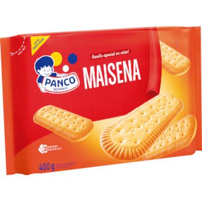 Biscoito doce sabor maizena pacote 400g Panco PCT
