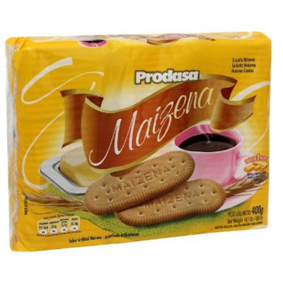 Biscoito doce sabor maizena pacote 400g Prodasa PCT