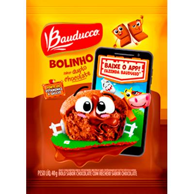 Bolinho sabor chocolate 40g Bauducco UN