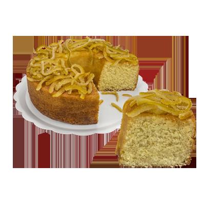 Bolo de laranja 1,5kg Empório das tortas  UN