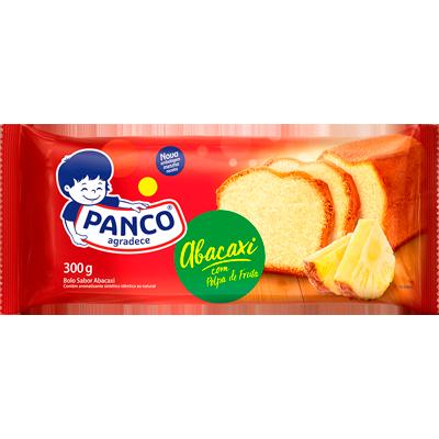 Bolo sabor abacaxi 300g Panco pacote UN