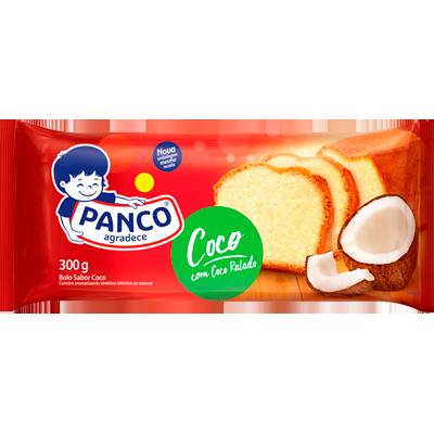 Bolo sabor coco 300g Panco pacote UN