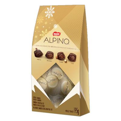Bombom chocolate caixa 195g Nestlé/Alpino CX