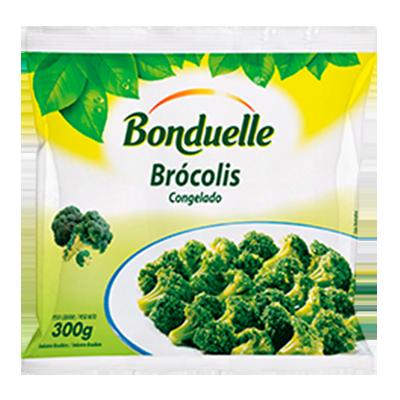 Brócolis congelado 300g Bonduelle pacote PCT