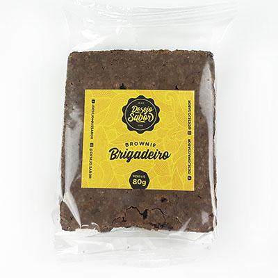 Brownie de brigadeiro 80g Desejo Sabor  UN