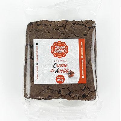 Brownie de creme de avelã 80g Desejo Sabor UN