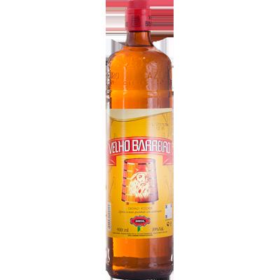 Cachaça  910ml Velho Barreiro garrafa UN