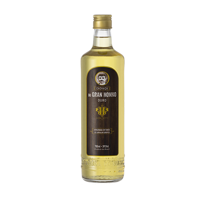 Cachaça Ouro garrafa 700ml Gran Nonno/Benedetti UN